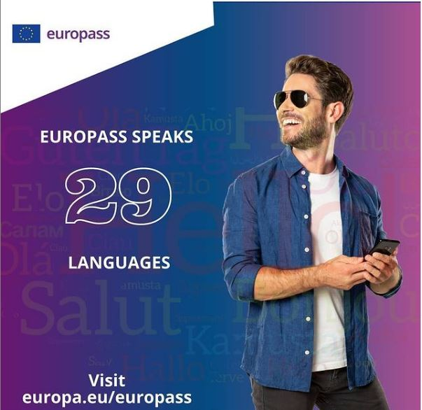 Dean shoots for Europass